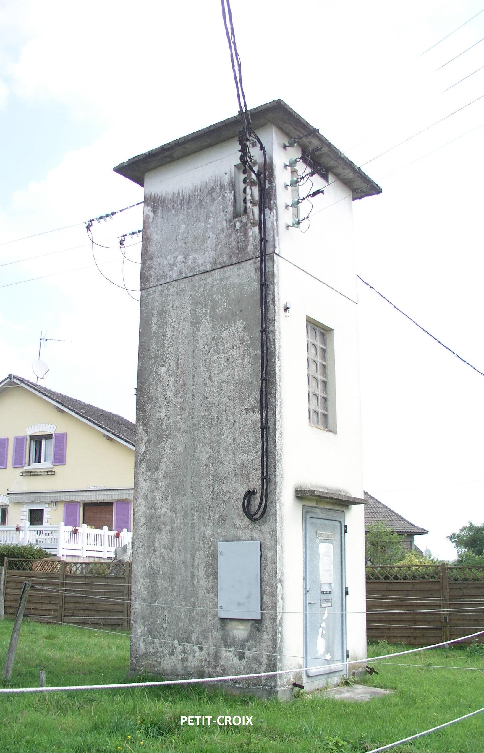 destruction cabine haute Petit-Croix
